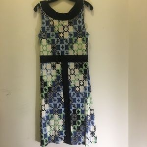 Tory Burch Sleeveless Silk Dress  M